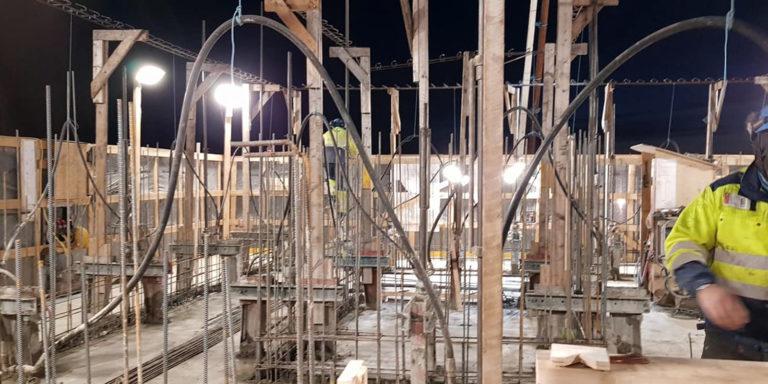 Nord-Timpurit-Oulu- timpurit töissään