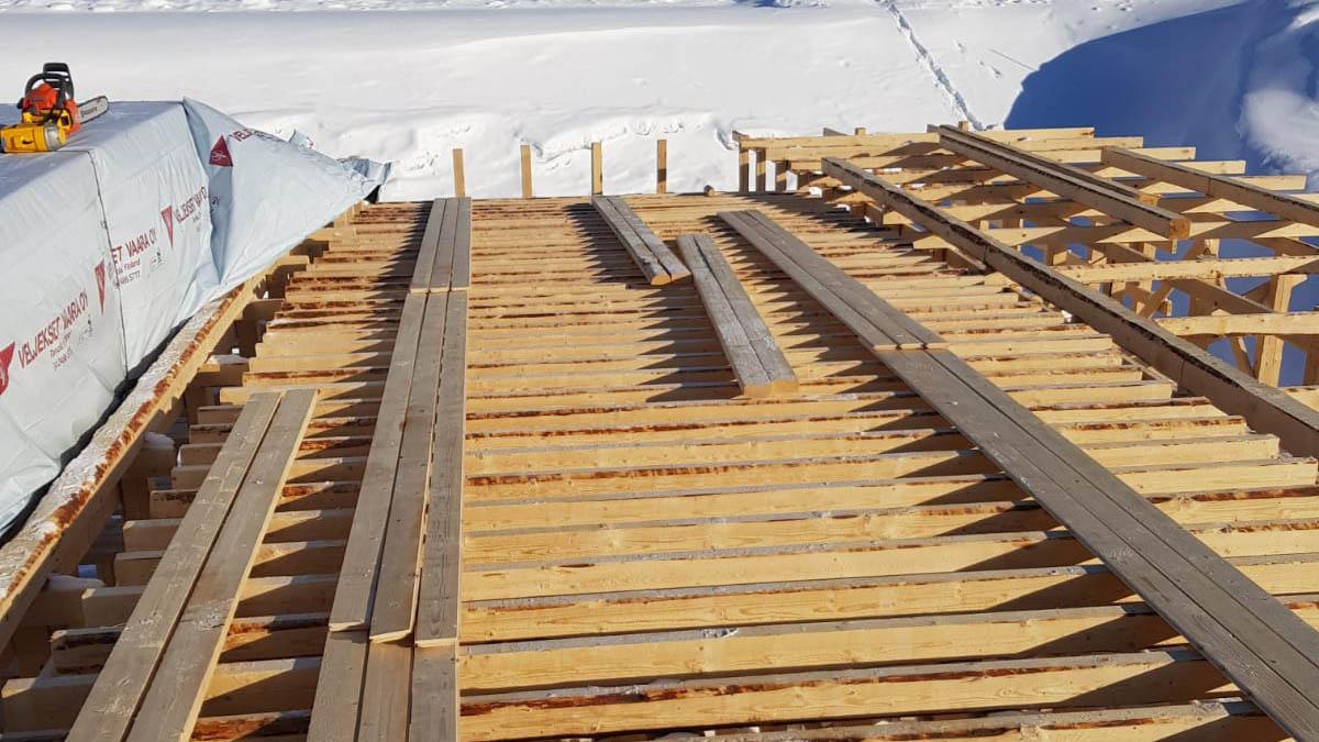Nord Timpurit siltatyö lautaa